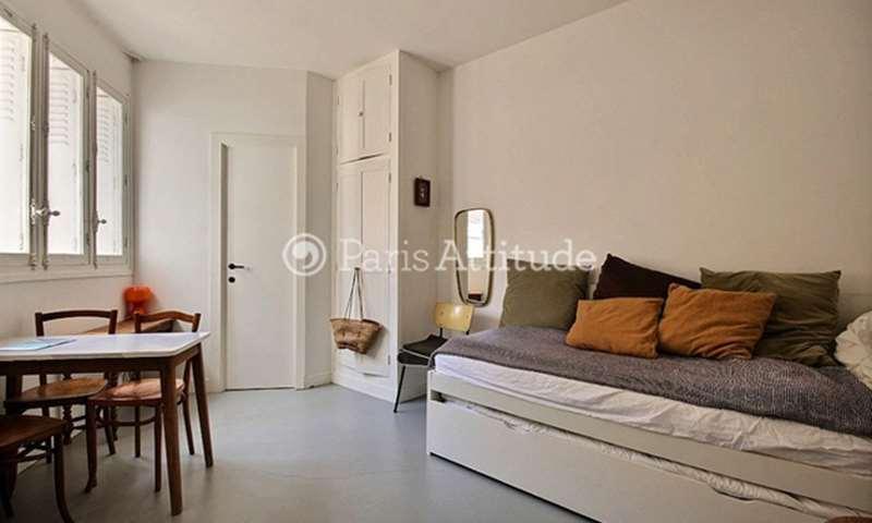 Rent Apartment Studio 20m² rue Pouchet, 17 Paris