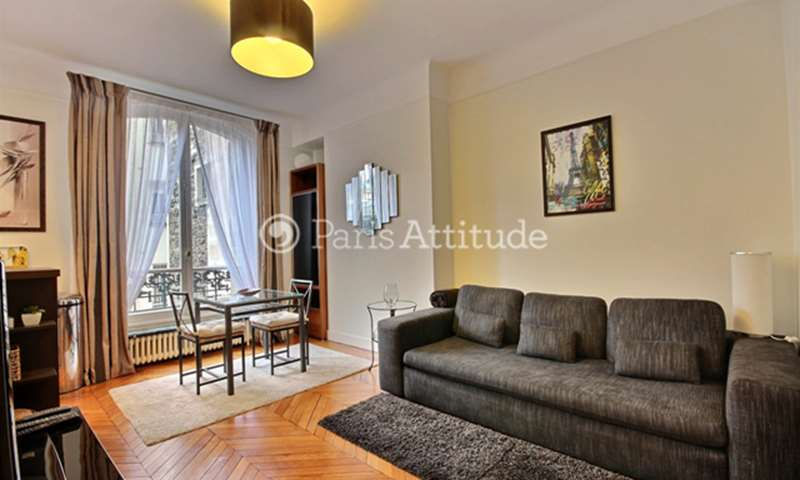 Rent Apartment 1 Bedroom 42m² rue Spontini, 16 Paris