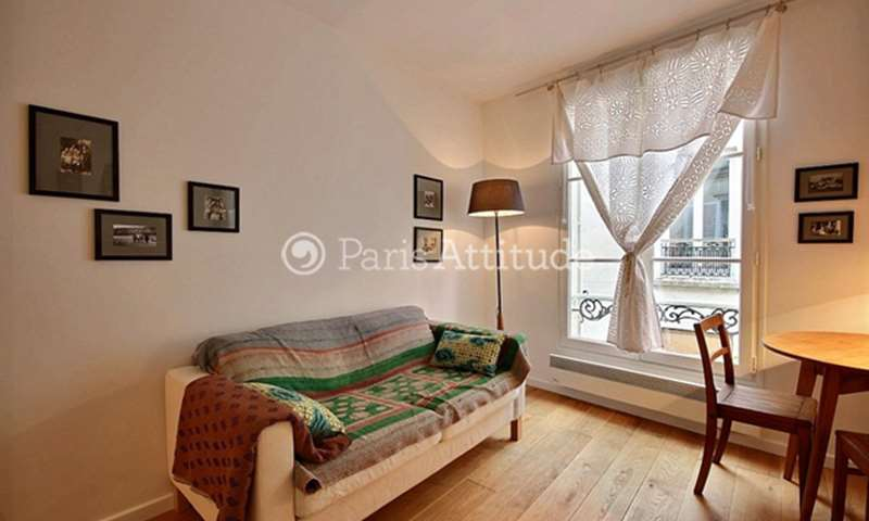 Rent Apartment Studio 21m² rue Andre Antoine, 75018 Paris