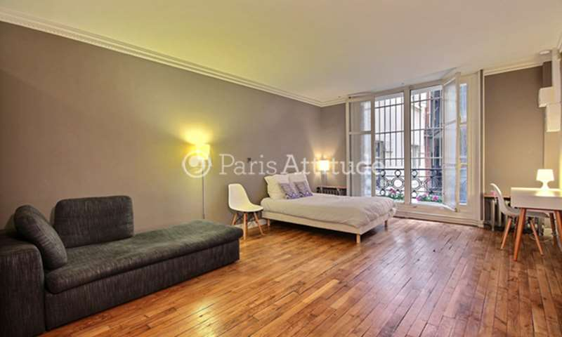 Rent Apartment Studio 33m² rue des Marronniers, 75016 Paris