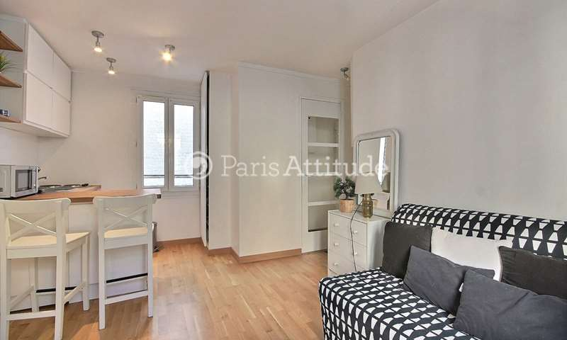 Rent Apartment Studio 17m² rue de la Felicite, 17 Paris