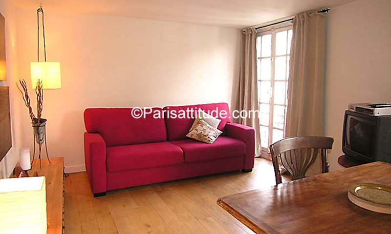 Rent Apartment Studio 24m² rue Aubriot, 75004 Paris