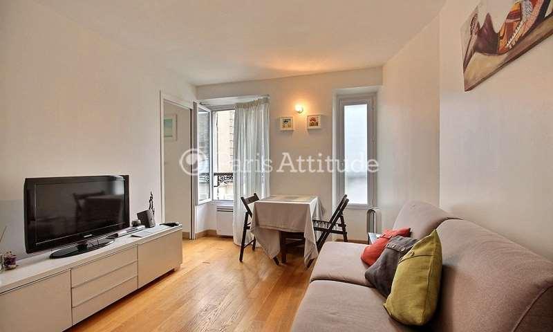 Location Appartement 1 Chambre 26m² rue Dulong, 17 Paris
