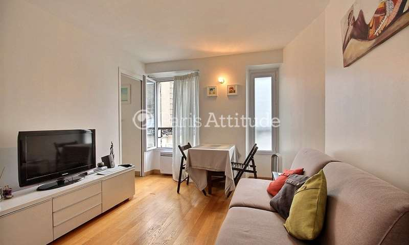 Rent Apartment 1 Bedroom 26m² rue Dulong, 75017 Paris