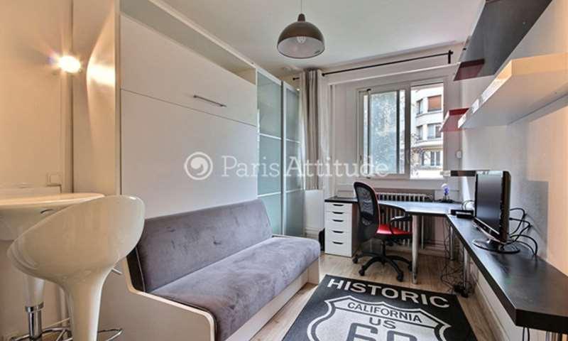 Rent Apartment Studio 17m² avenue de Malakoff, 16 Paris