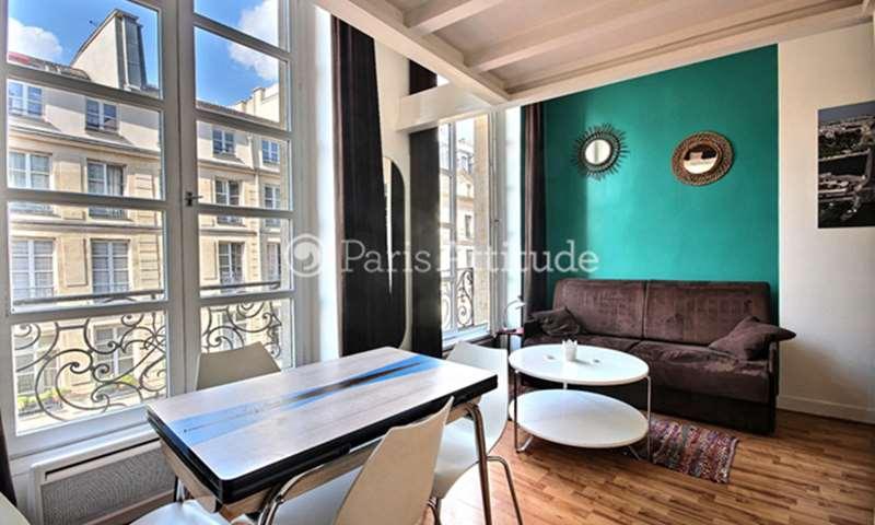 Rent Apartment Studio 29m² rue de la Ferronnerie, 1 Paris