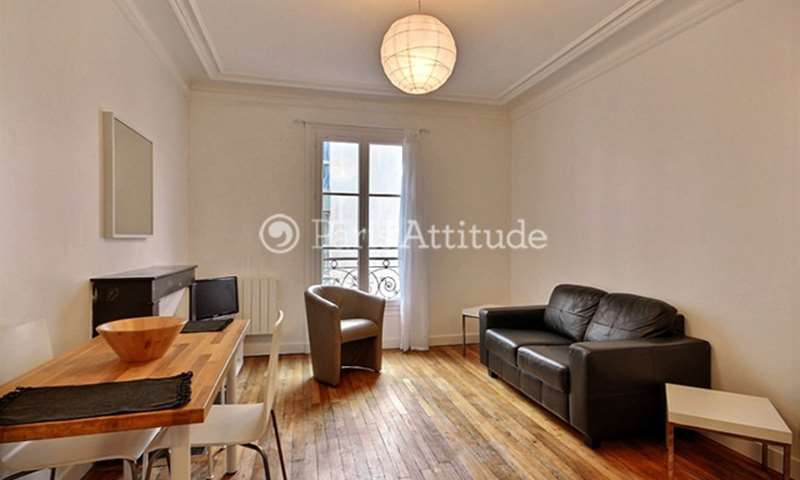 Rent Apartment 1 Bedroom 30m² Cite Ferembach, 17 Paris