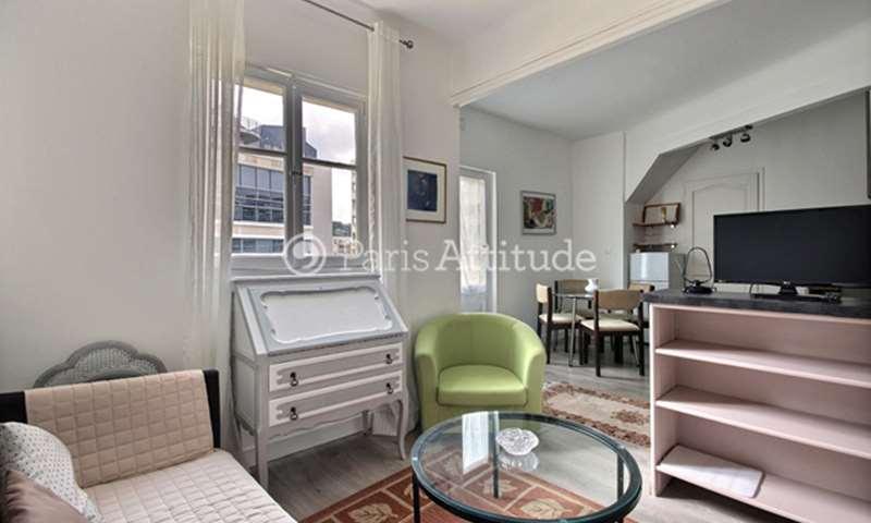 Location Appartement 1 Chambre 33m² rue Cambronne, 15 Paris