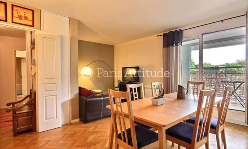 Rent Apartment 2 Bedrooms 70m² Quai de la Garonne, 19 Paris