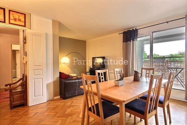 Rent furnished Apartment 2 Bedrooms 70m² Quai de la Garonne, 75019 Paris