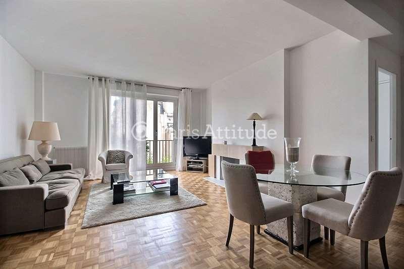 Louer Appartement meublé 2 Chambres 72m² avenue Theophile Gautier, 75016 Paris