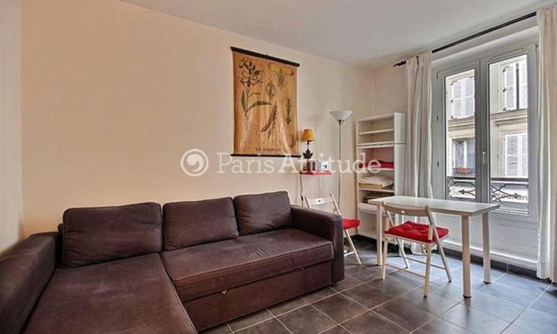Rent Apartment Studio 18m² rue Veron, 75018 Paris