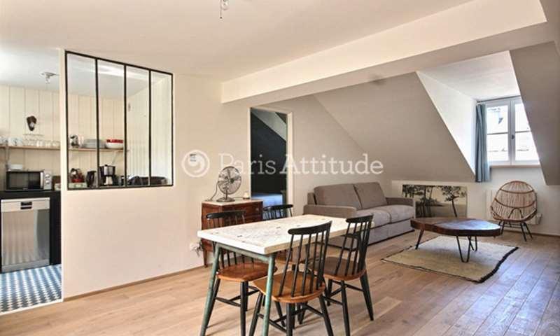 Location Appartement 1 Chambre 53m² rue Michel Le Comte, 3 Paris