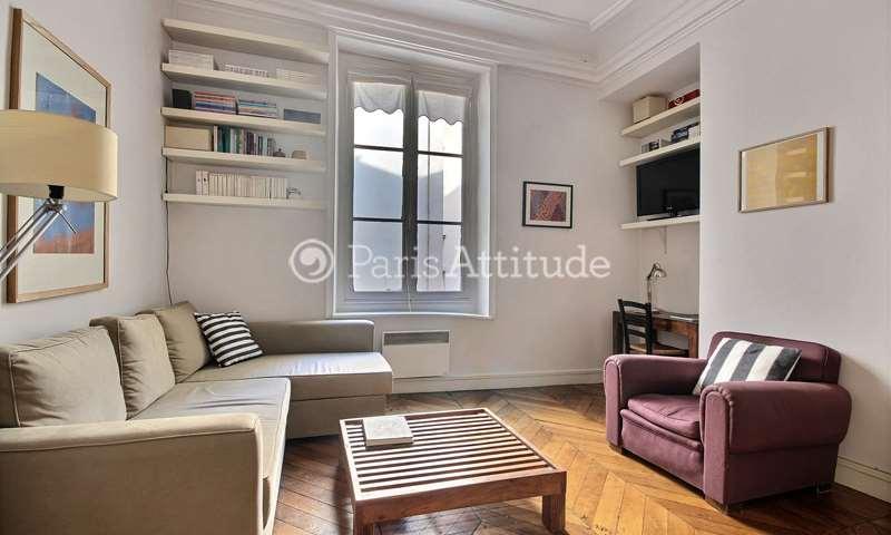 Rent Apartment 1 Bedroom 50m² rue Jean Jacques Rousseau, 1 Paris