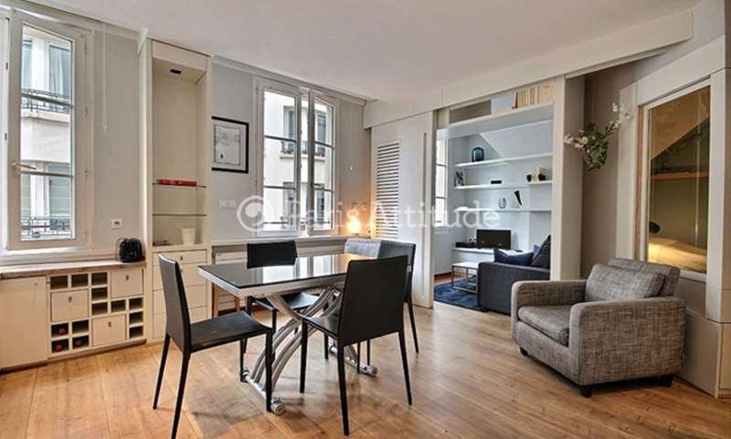 Rent Apartment 1 Bedroom 40m² rue Marie Stuart, 75002 Paris