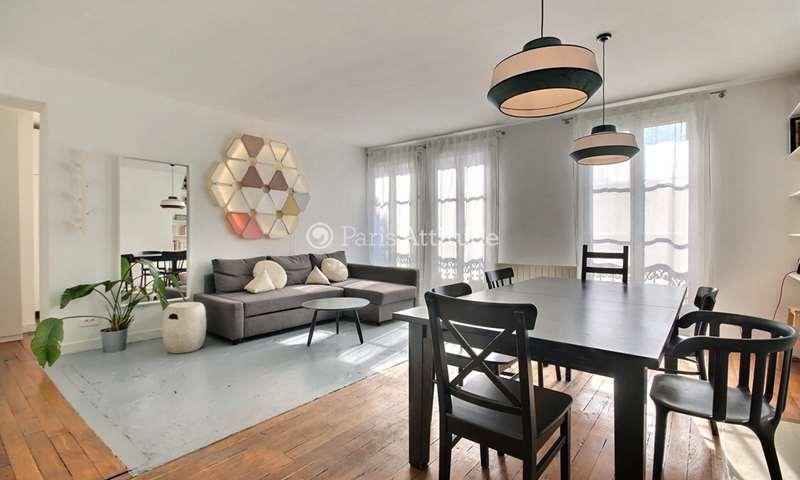 Rent Apartment 2 Bedroom 70m² rue de la Forge Royale, 75011 Paris