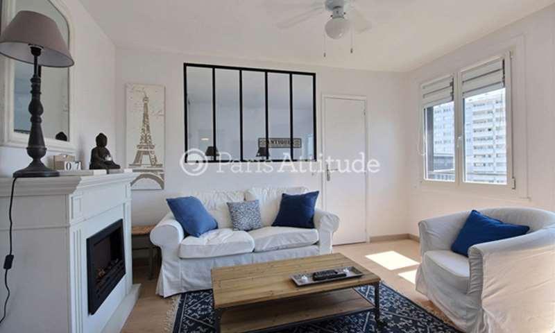 Rent Apartment 1 Bedroom 35m² avenue Jean Jaures, 92120 Montrouge