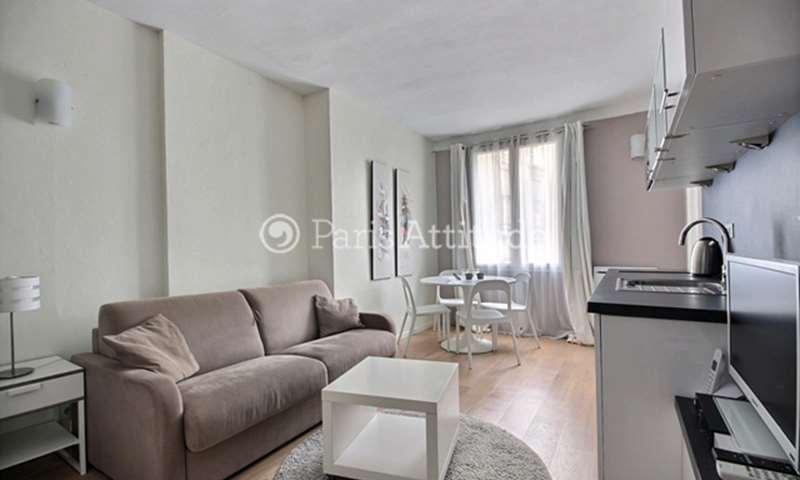Rent Apartment Studio 20m² rue de Clery, 2 Paris