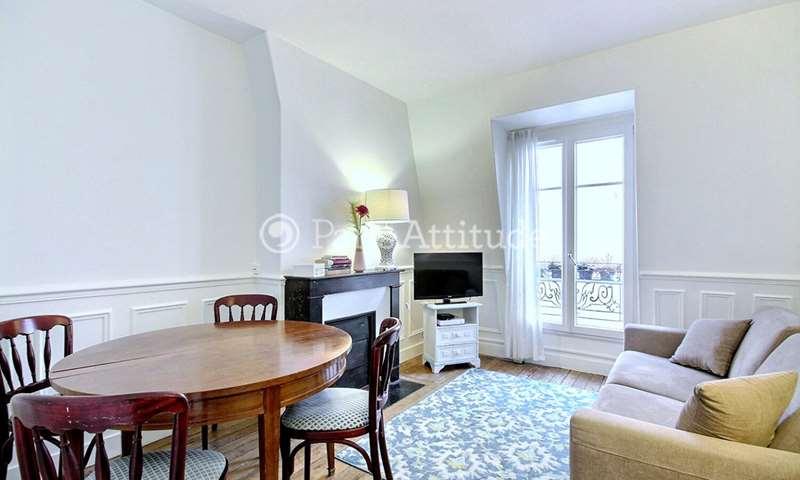 Rent Apartment 1 Bedroom 26m² rue Des Renaudes, 17 Paris