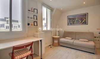 Location Appartement Studio 16m² rue Michel Ange, 16 Paris