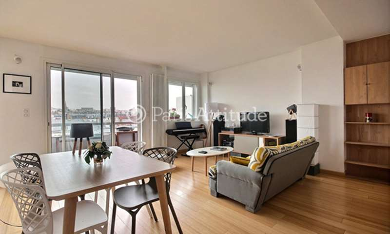 Rent Apartment 2 Bedroom 67m² boulevard Jules Ferry, 75011 Paris