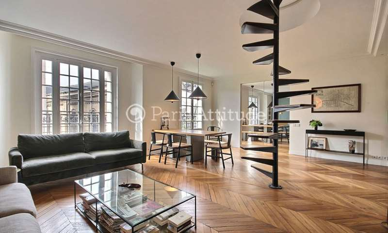 Rent Apartment 2 Bedrooms 85m² rue de Cice, 6 Paris