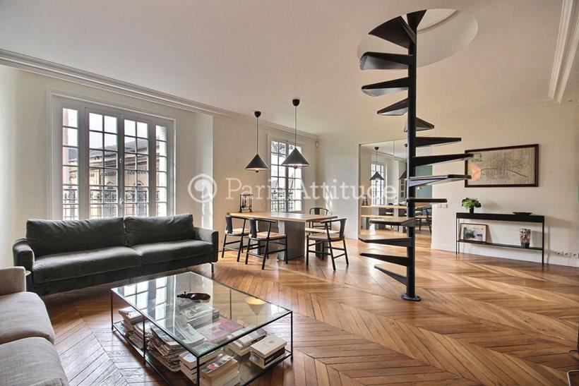 Rent furnished Apartment 2 Bedrooms 85m² rue de Cice, 75006 Paris