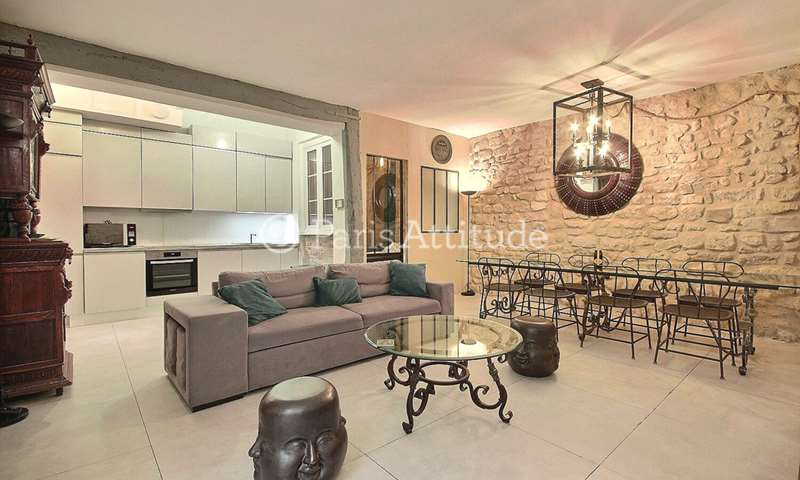 Rent Apartment 5 Bedroom 130m² rue de Montmorency, 75003 Paris