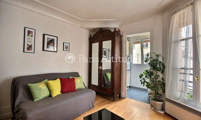Rent Apartment 1 Bedroom 38m² rue Dautancourt, 75017 Paris