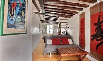 Rent Apartment 2 Bedrooms 48m² rue Beauregard, 2 Paris
