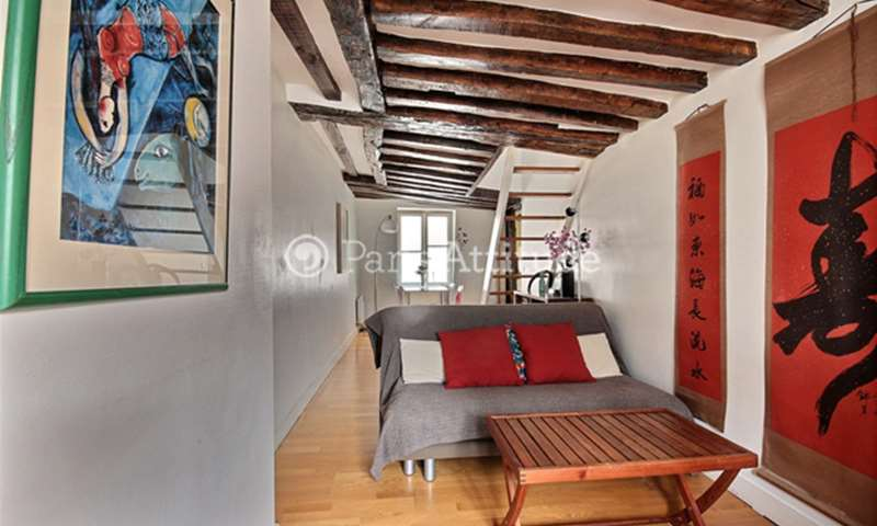 Location Appartement 2 Chambres 48m² rue Beauregard, 2 Paris