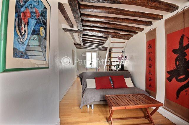 Rent furnished Apartment 2 Bedrooms 48m² rue Beauregard, 75002 Paris