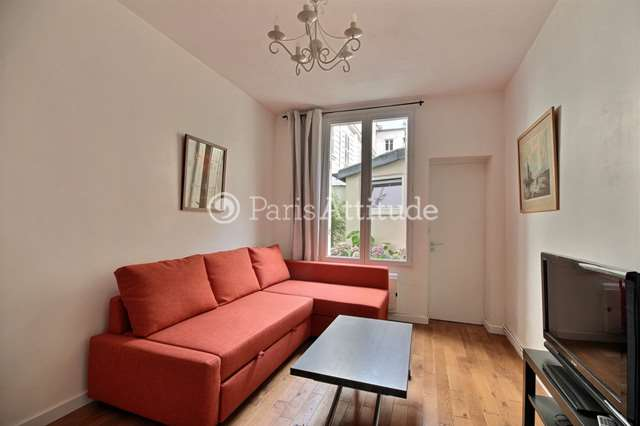 Louer Appartement meublé 1 Chambre 33m² avenue Rachel, 75018 Paris