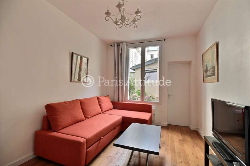Louer un appartement paris 75018 33m montmartre - Nid rouge lincroyable appartement paris ...
