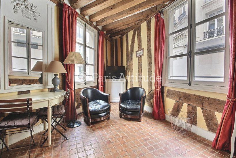 Rent furnished Apartment Studio 20m² rue Saint Roch, 75001 Paris