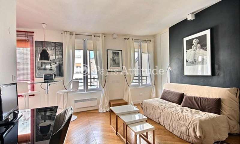 Location Appartement Studio 22m² rue des Archives, 3 Paris