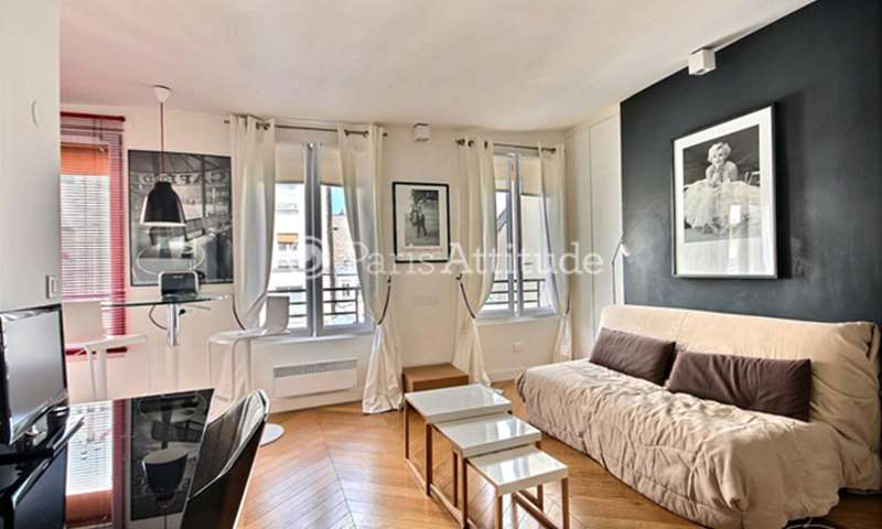 Rent Apartment Studio 22m² rue des Archives, 75003 Paris
