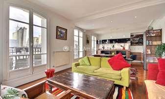 Rent Apartment 2 Bedrooms 90m² rue Bachaumont, 2 Paris