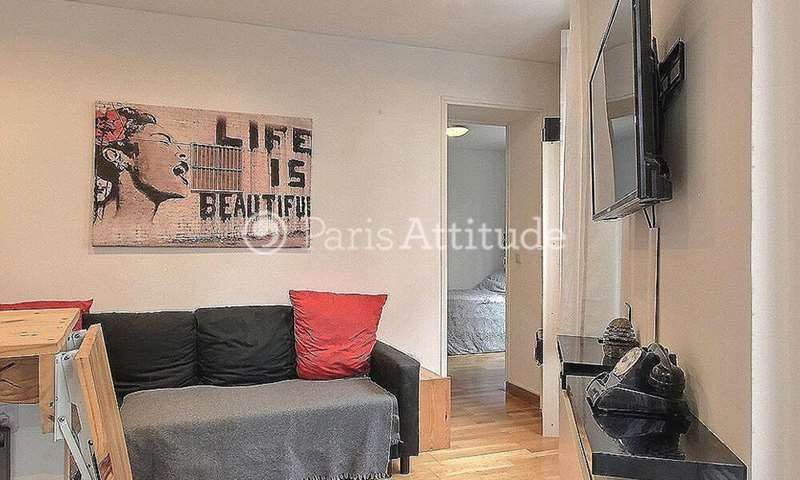 Rent Apartment 1 Bedroom 20m² rue Duhesme, 18 Paris