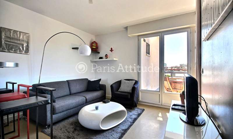 Rent Apartment Alcove Studio 27m² rue de la Convention, 75015 Paris