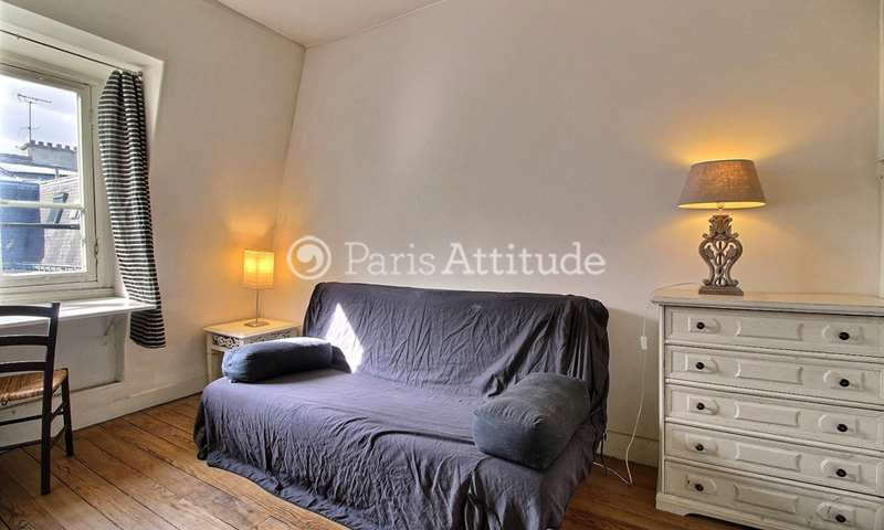 Rent Apartment Studio 22m² rue Eugene Sue, 75018 Paris
