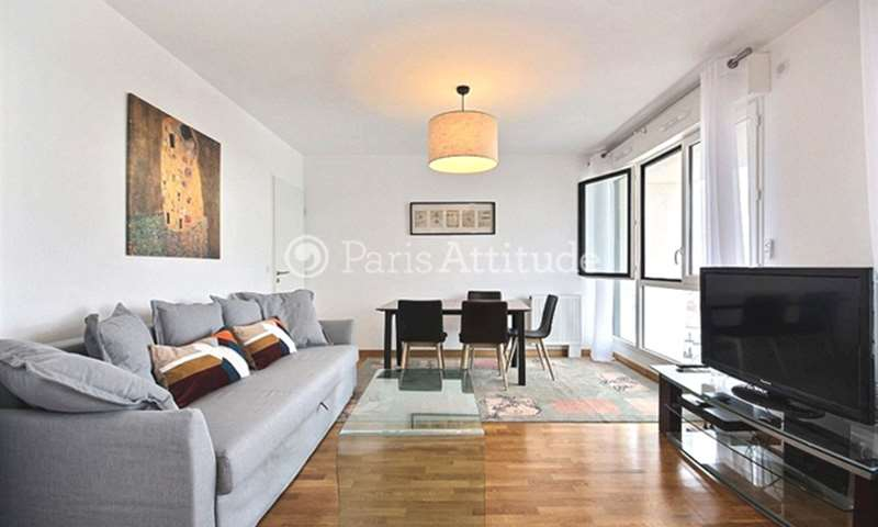 Rent Apartment 1 Bedroom 46m² rue de la Cour des Noues, 20 Paris