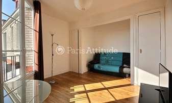 Rent Apartment Studio 20m² Villa Gagliardini, 20 Paris