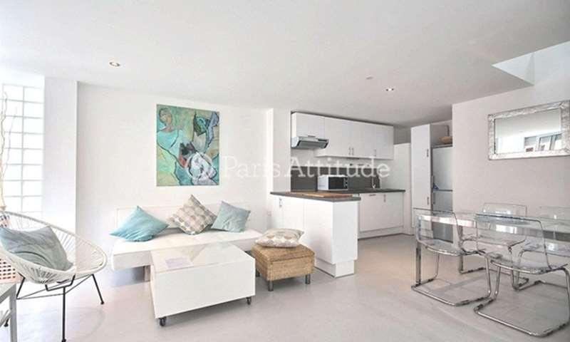 Rent Townhouse 2 Bedrooms 61m² rue du Volga, 20 Paris