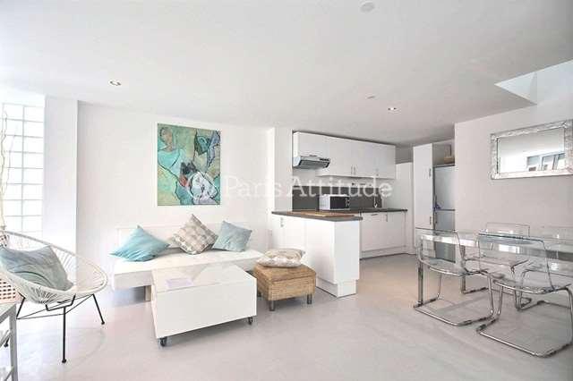 Louer Maison de Ville meublé 2 Chambres 61m² rue du Volga, 75020 Paris