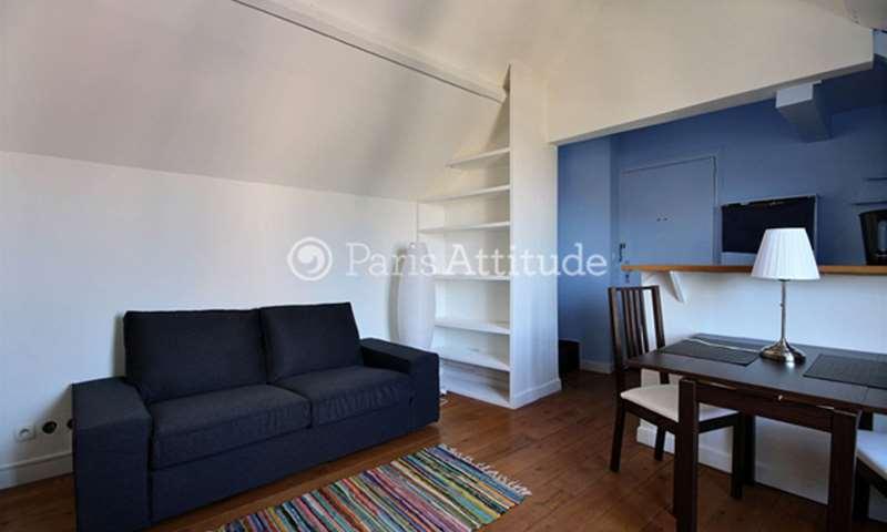 Rent Apartment 1 Bedroom 37m² rue Cortot, 75018 Paris