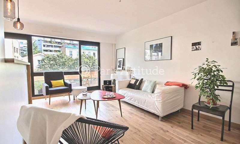 Rent Apartment 1 Bedroom 46m² avenue Parmentier, 75011 Paris