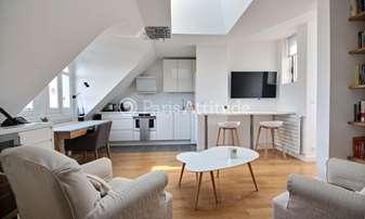 Rent Apartment 1 Bedroom 45m² rue Henri de Bornier, 16 Paris