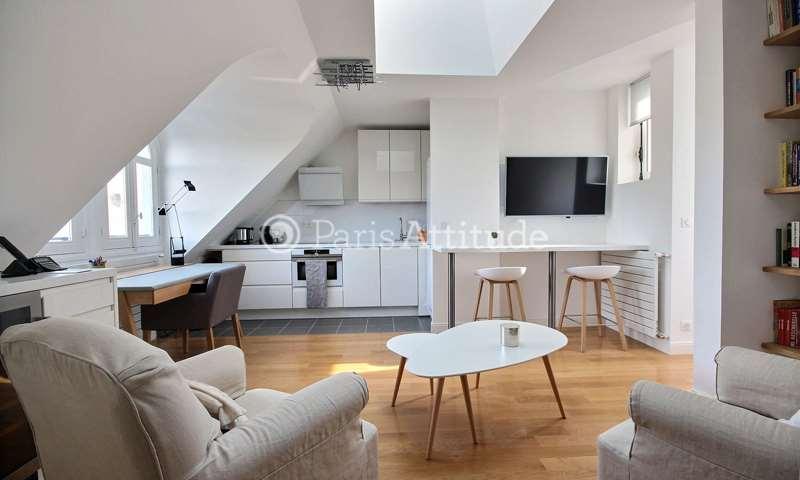 Rent Apartment 1 Bedroom 45m² rue Henri de Bornier, 75016 Paris