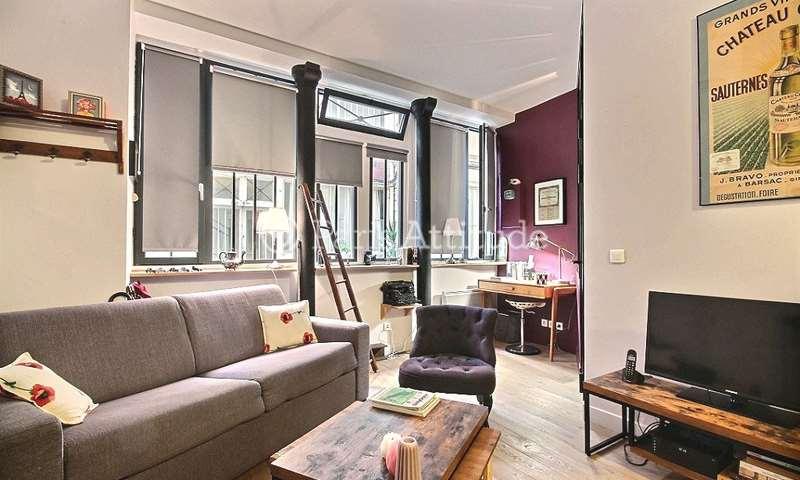 Rent Apartment 1 Bedroom 30m² rue du Faubourg Saint Martin, 10 Paris